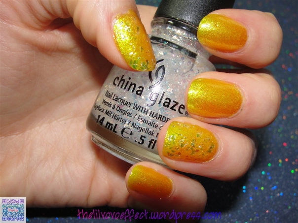 Color Club, Daisy Does It. China Glaze, Luxe And Lush.