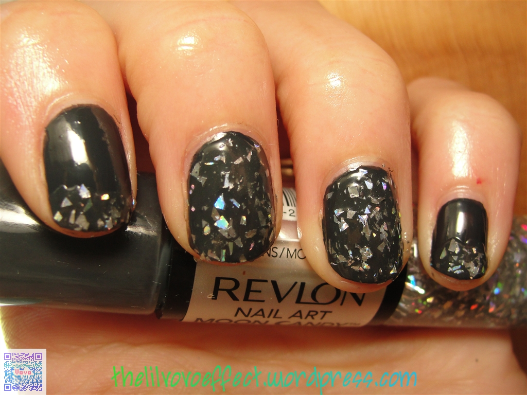 Revlon Nail Art Moon Candy Milky Way The Lil Vovo Effect