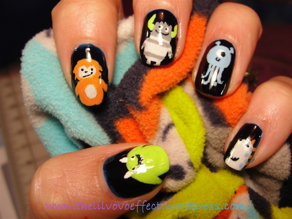Nail Art Monster Nails The Lil Vovo Effect